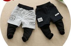 宝宝假2件套裤子图片