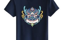 中国风纯棉短袖t恤大码男图片