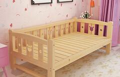 特价儿童床带护栏图片