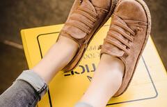 豆豆鞋女懒人蹬图片