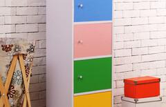 木柜子储物柜带门定做图片