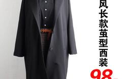 茧型西装外套女薄图片