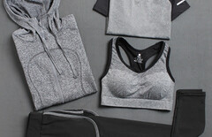 两件套健身裤图片