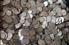 一分硬币图片