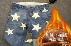 宠物衣服星星牛仔裤图片