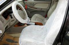 汽车无纺布防护座椅套图片