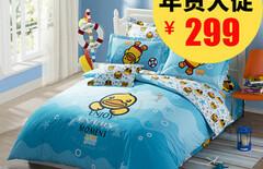 卡通纯棉床上用品图片