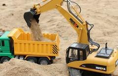 挖土机电动遥控图片