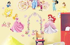 儿童墙贴纸卡通床头图片