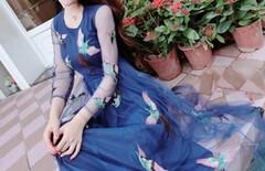 刘钰懿同款连衣裙图片