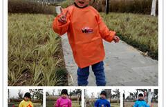 儿童罩衣倒穿衣图片