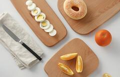 烘焙案板木图片