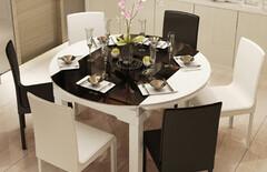 小餐桌可折叠小户型图片