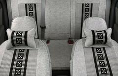大众捷达黑色座椅套子图片