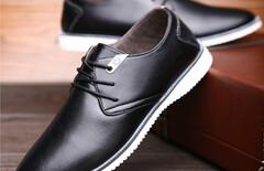 男鞋软底英伦图片
