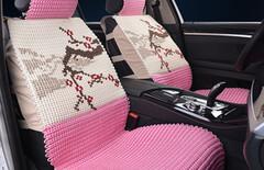 汽车座垫夏季全包坐垫图片