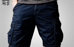 多口袋户外短裤男图片