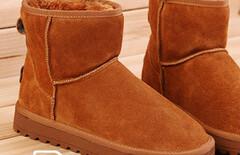 人本雪地靴图片
