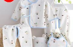 刚出生婴儿纯棉内衣图片