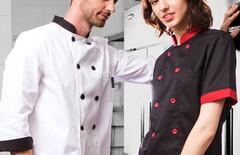 厨师长工作服夏装图片