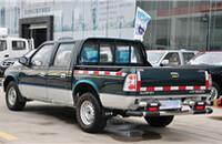 福田萨普T 2.8L手动柴油共轨报价14.00-14.05万