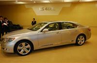 雷克萨斯LS 460L豪华加长全驱版报价170-180.3万