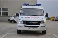 大通MAXUS V80改装车转运型救护车2.5T手动短轴9座报价23.80万