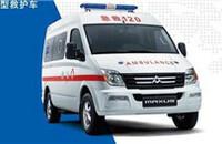 大通MAXUS V80改装车转运型救护车2.5T手动短轴9座2报价