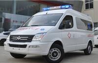 大通MAXUS V80改装车转运型救护车2.5T手动长轴9座报价