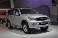 猎豹CS6柴油版 CFA2032A MT 4WD豪华型报价22.18-22.68万